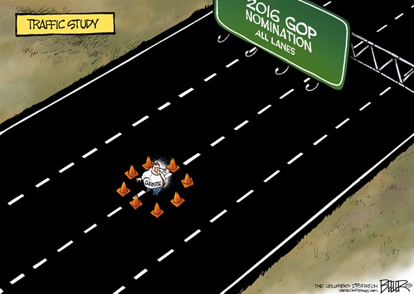 2016 Christie Study - All Lanes Closed Ahead