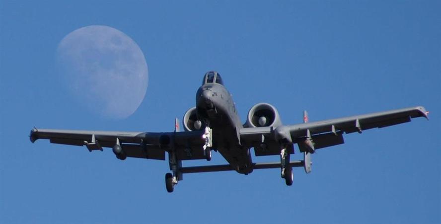 A-10 Final Approach