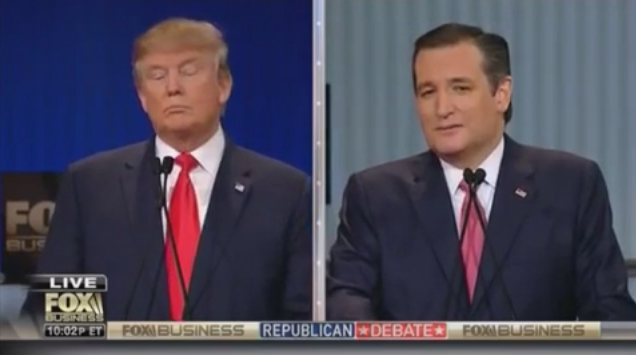 Cruz Hits Trump on New York Values