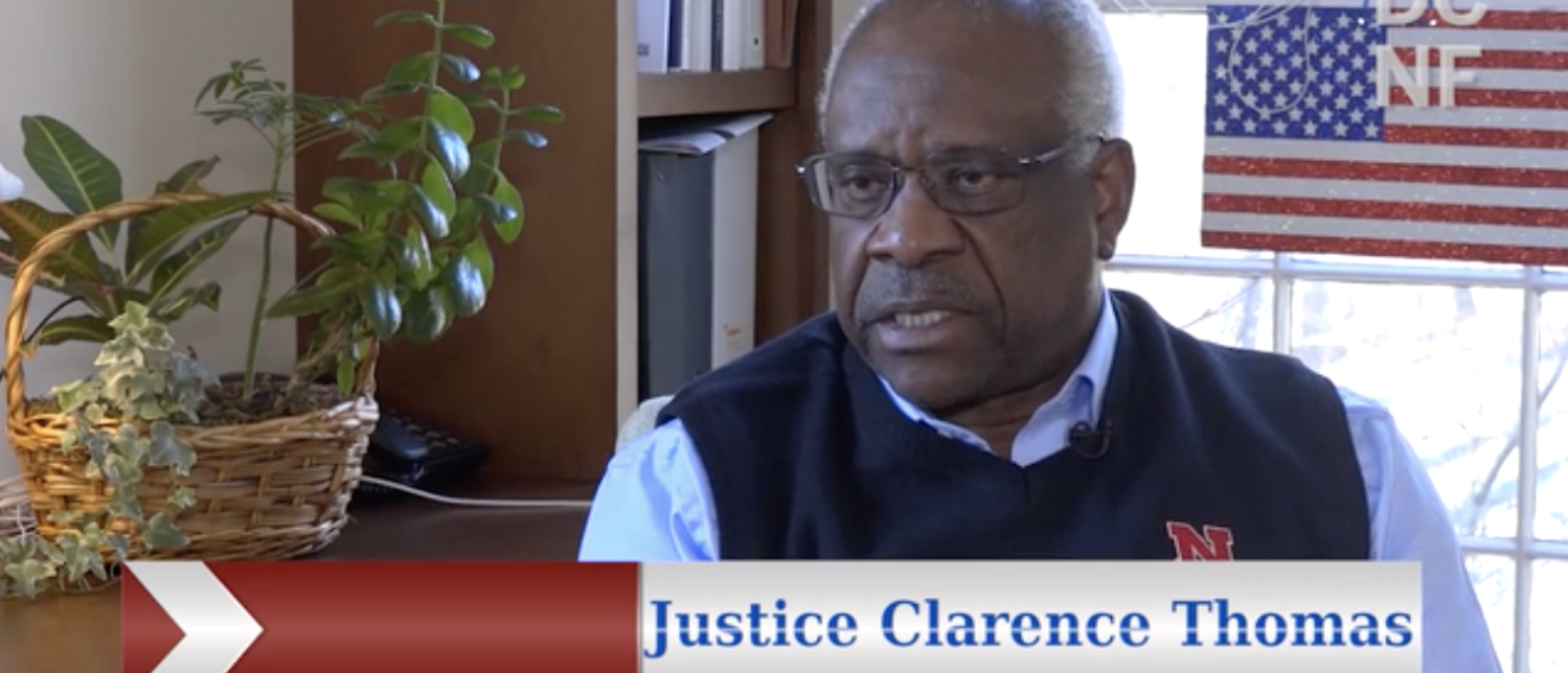 Justice Clarence Thomas as You've Likely Never Seen Him