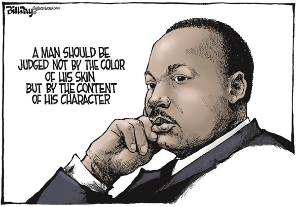 MLK Day - Content of his character