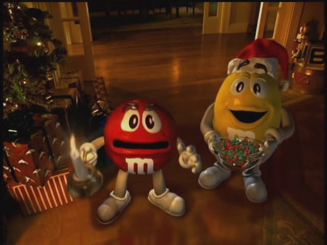 20 Years Later We Finally Get M&M's Christmas Commercial Sequel