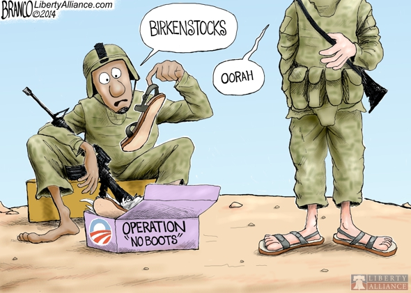 Operation No Boots?
