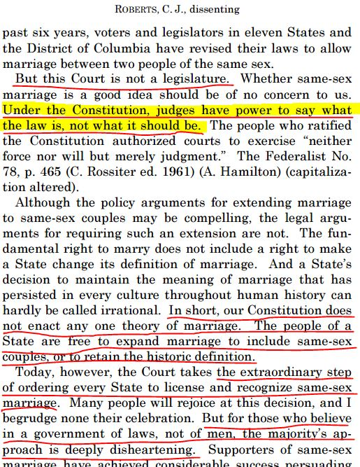 Roberts on Marriage