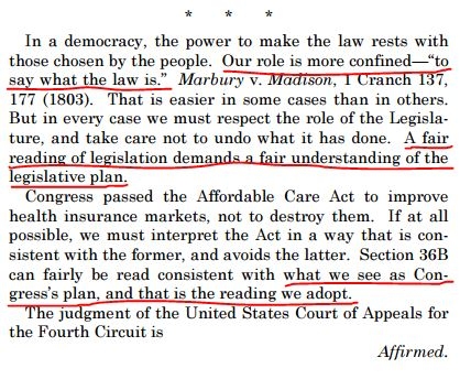 Roberts on ObamaCare