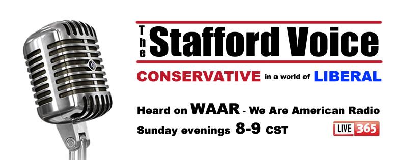 The Stafford Voice Radio on WAAR - We Are American Radio