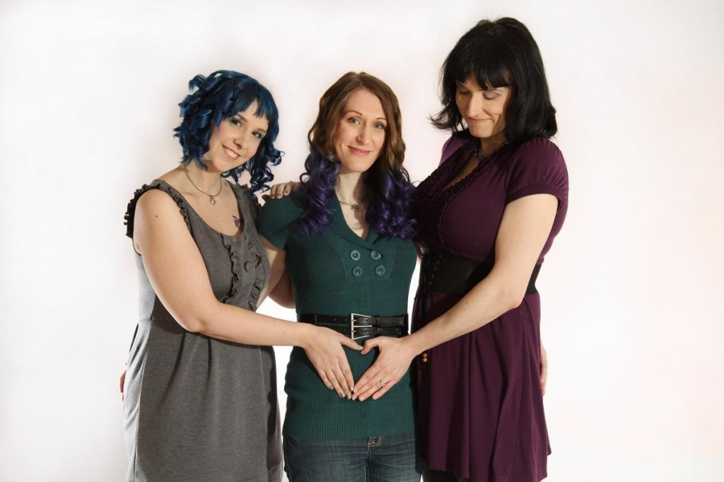 Throuple: 'Married' Lesbian Threesome