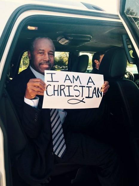 Ben Carson #iamachristian