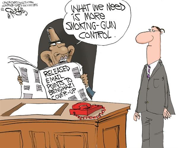 Benghazi Smoking-Gun Control