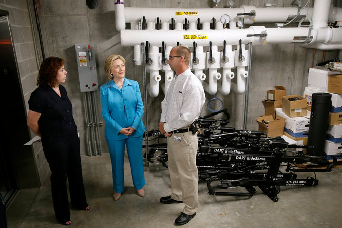 hillary clinton talking energy