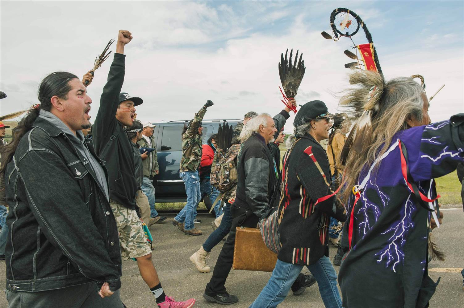 Dakota Access Pipeline Path Blocked