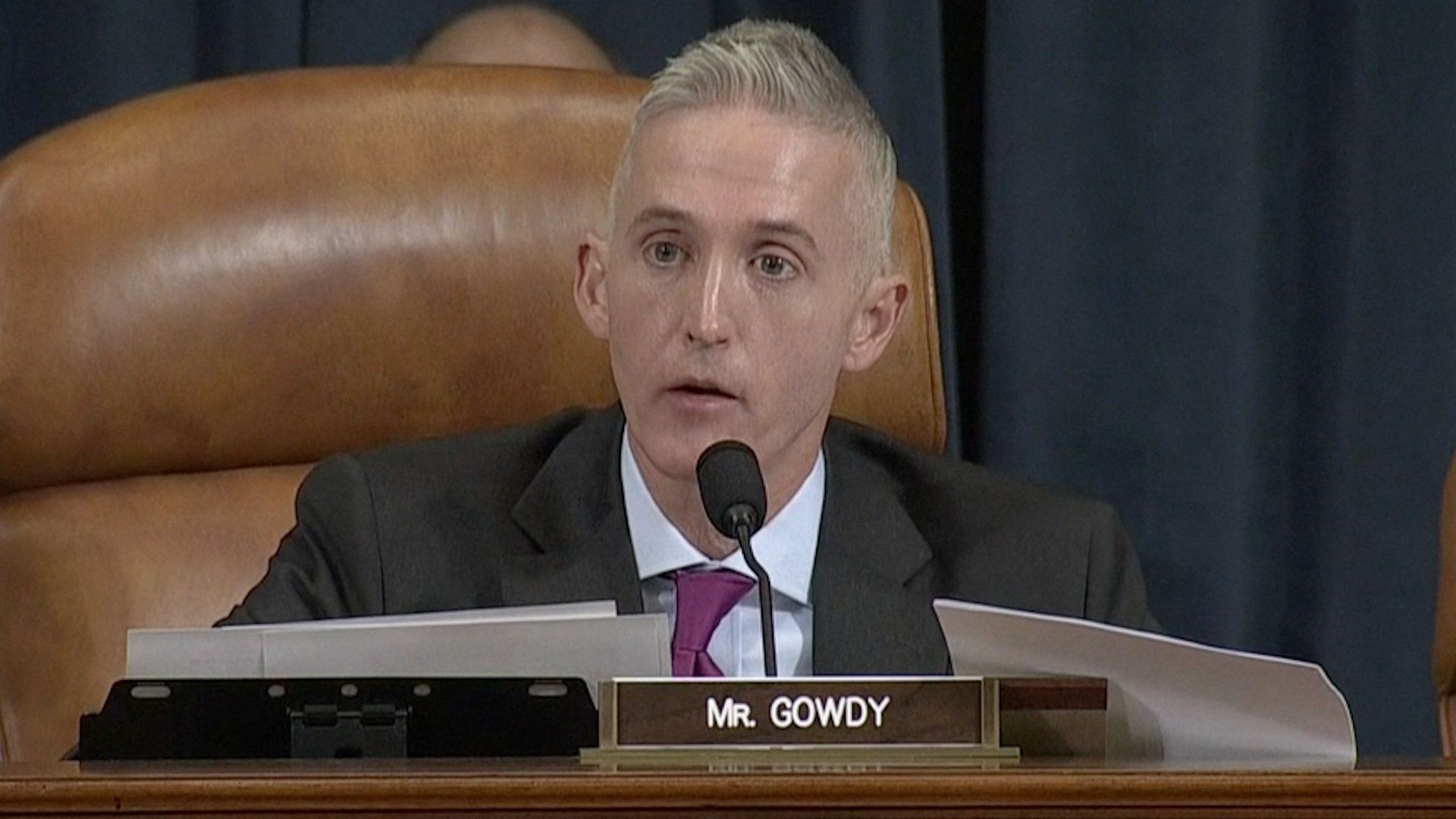 Trey Gowdy Confronts Hillary Clinton in Opening Remarks