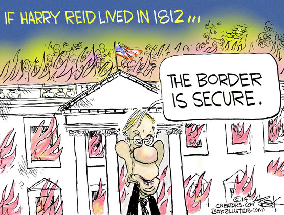 Harry Reid the Younger on Border Security