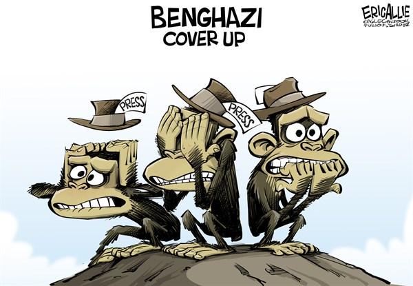 Hear No Benghazi, See No Benghazi, Speak No Benghazi