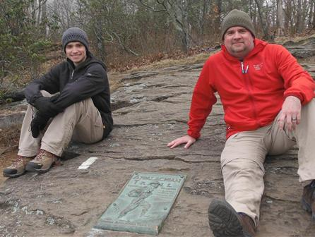 Hike for Heroes Appalachian Trail Marker