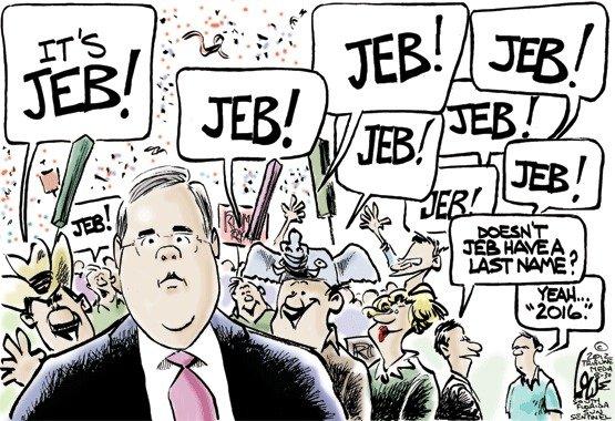 Jeb Who?