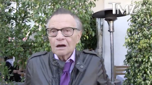 Larry King on the 2nd Amendment: 'Repeal It'