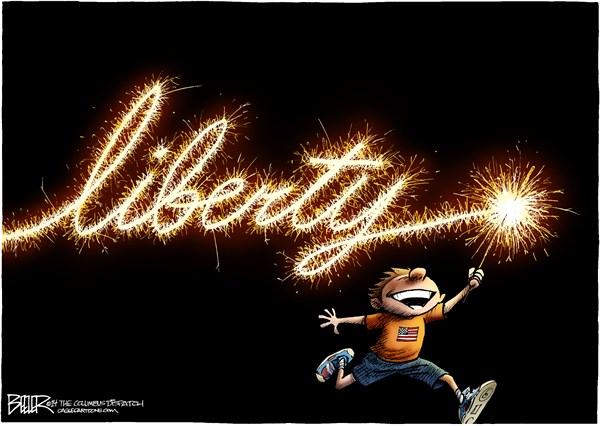 The Sparkler of Liberty