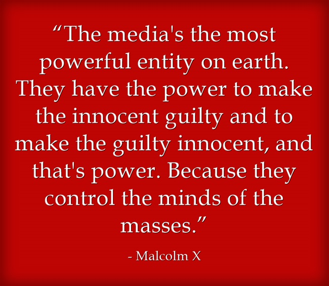malcolm x on the power of the media