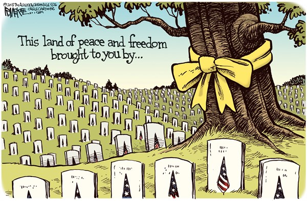 Memorial Day: This land of peace and freedom brought to you by . . .
