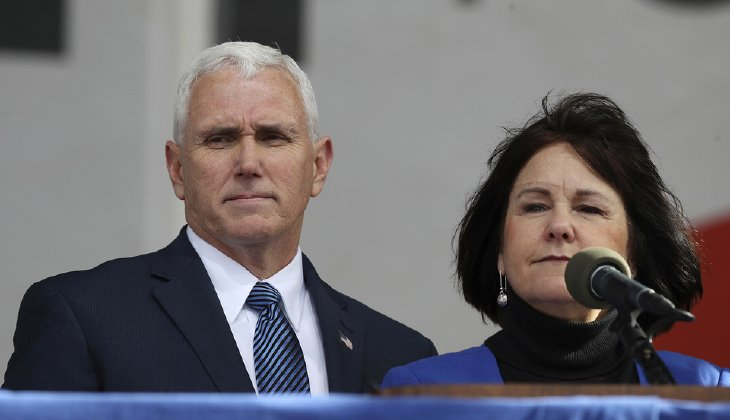 Mike Pence gets mocked for a commitment he made with his wife?