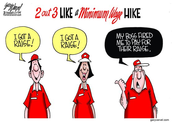 Minimum Wage Cuts