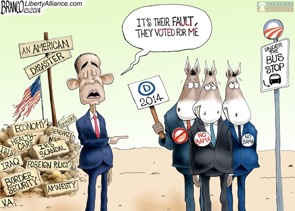 Democrats Won't Stand With Obama