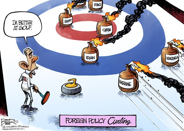 Curling: Obama's Foreign Policy Strategy