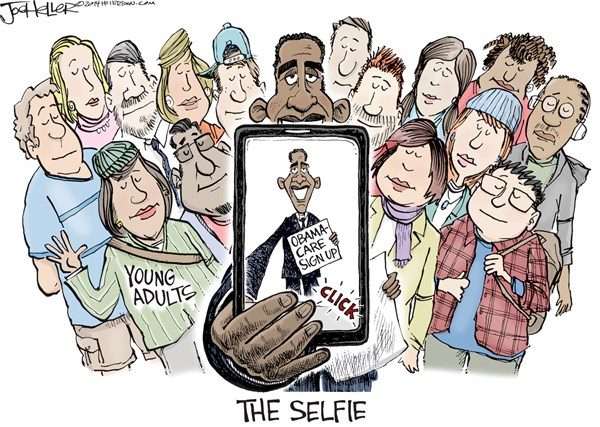 Obama's Group Selfie