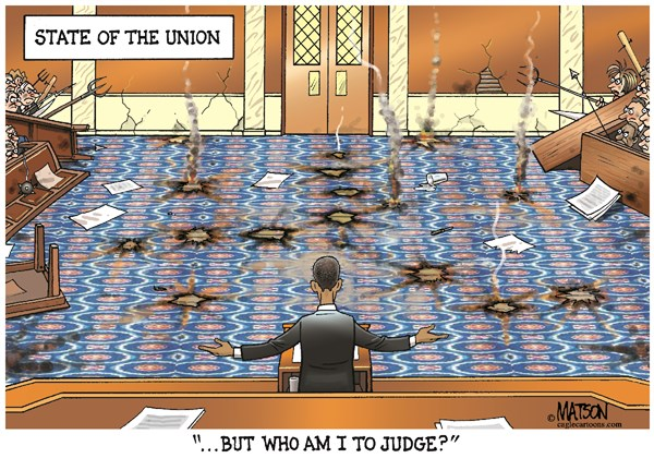 Obama's State of the Dis-Union