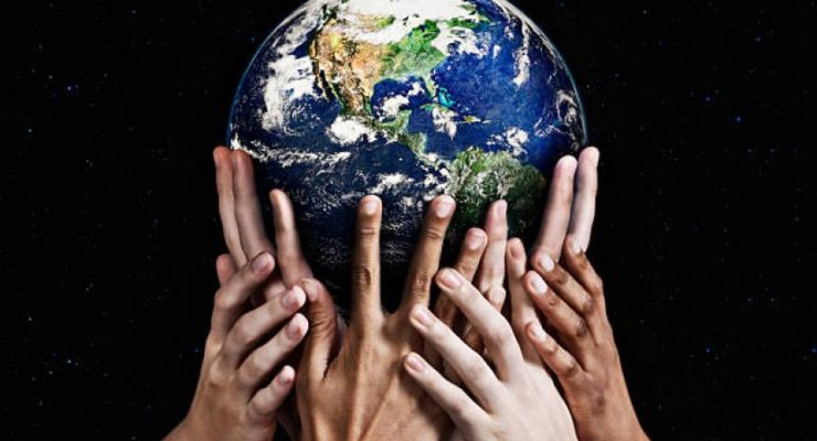 planet earth is in our hands
