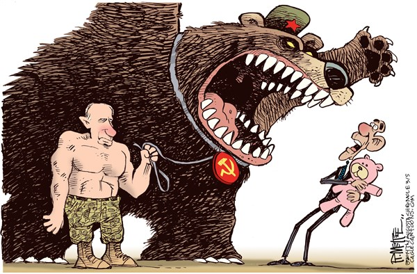 Putin and the Bear