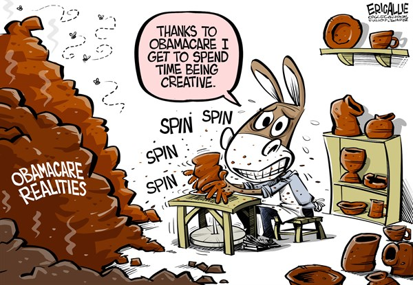 Spinning Obamacare Realities