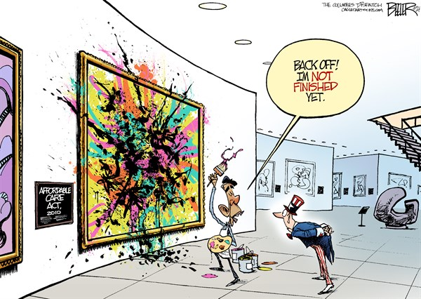 The Art of Obamacare: A Work in Progress