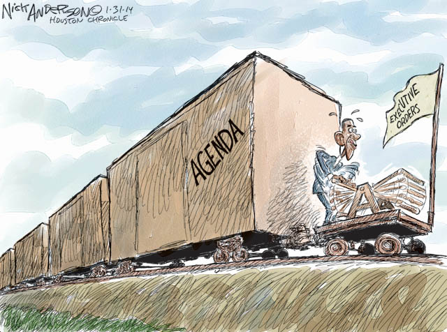 The Executive Order Train