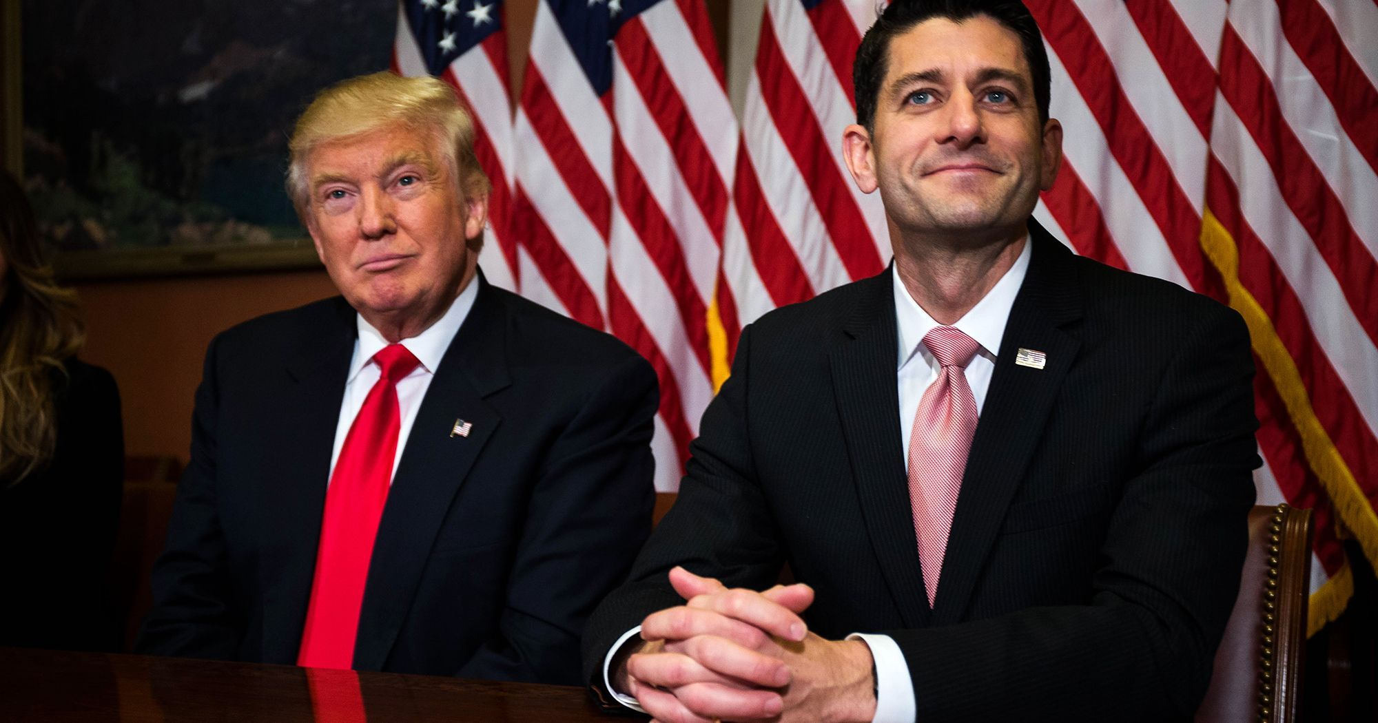 Trumpcare caves; Obamacare stays