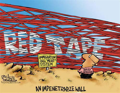 An Impenetrable Wall of Red Tape