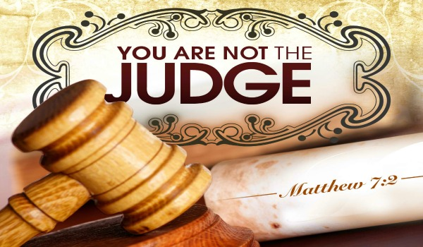 Seek to be Judged by God than from Man